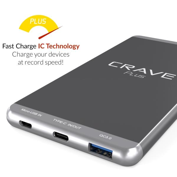 Crave Plus A Perfect Portable Charger To Use.
