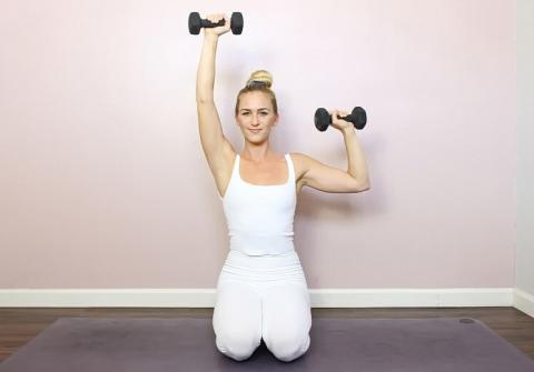 Skip the Shoulder Posture Brace & Do These Light Dumbbell Exercises Instead