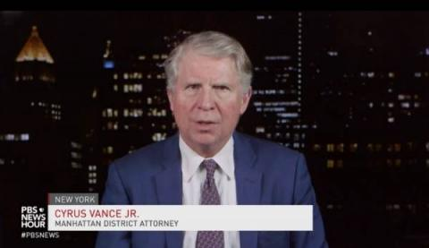 "Crooked Manhattan DA Cy Vance Refuses to Prosecute Protest-Related Arrests ""In the Interest of Justice"""