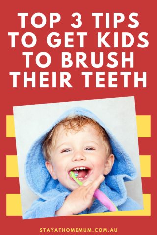 Top 3 Tips To Get Kids To Brush Their Teeth
