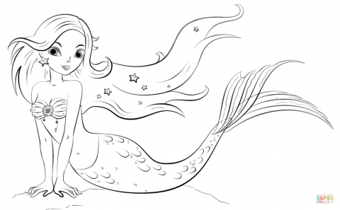 The Best Printable Mermaids